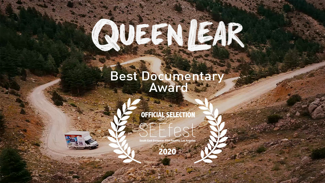 QUEEN LEAR RECEIVES THE BEST DOCUMENTARY AWARD FROM SEEFEST 2020